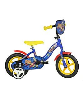 Fireman Sam 10inch Bike