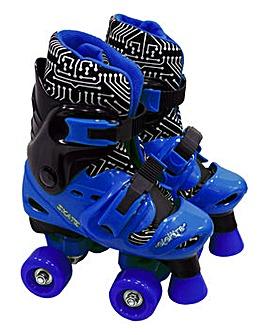 Elektra Quad Boots Adjustable Black & Bl