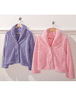 Plush Bed Jacket