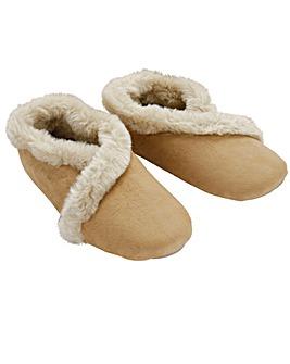 Microsuede Slippers