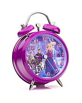 Frozen Mini Twin Bell Alarm Clock