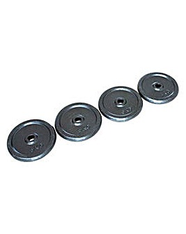 Opti 4 x 5 Kg Cast Weights