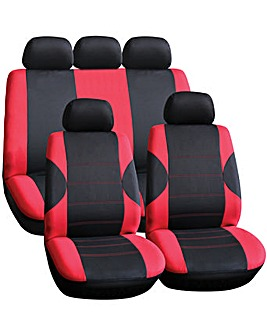 Streetwize Arkansas Red Seat Cover Set