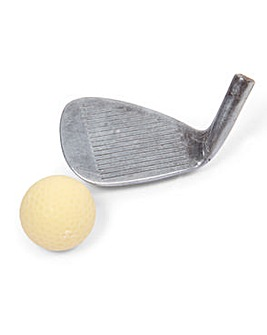 Schokolat Chocolate Golf Club and Ball
