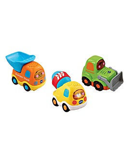 VTech Toot-Toot Construction Vehicle 3pk