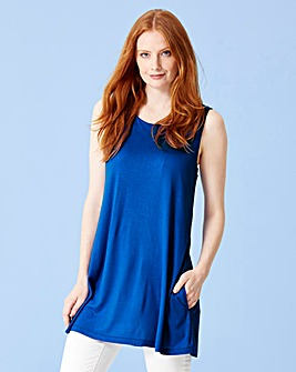 Cobalt Blue Swing Tunic