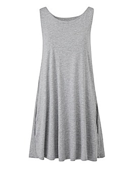 Grey Swing Tunic