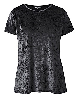 Black Velour T-shirt