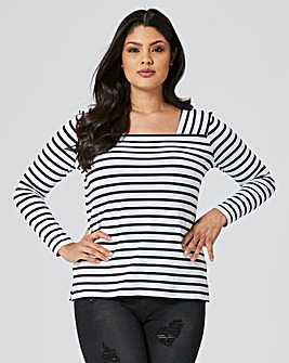 Cutabout Stripe Top