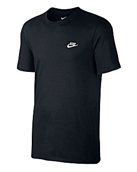Nike Swoosh Embroidered T-Shirt Regular