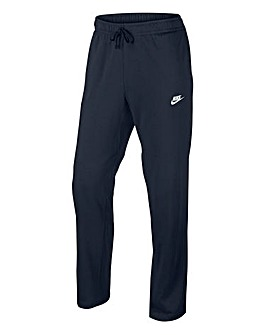 Nike Swoosh Club Fleece Open Hem Joggers