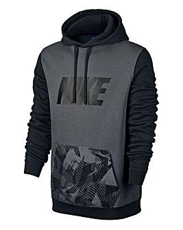 Nike Overhead Contrast Print Hoody Reg