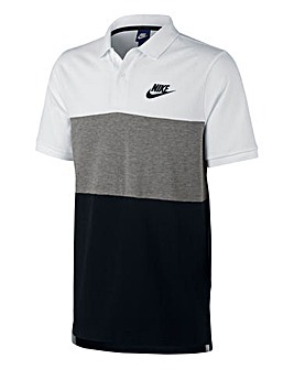 Nike Colour Block Pique Polo Regular