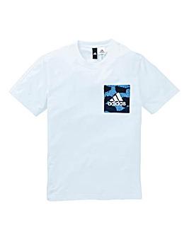 adidas Camo Print T-Shirt