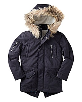 Joe Browns Boys Hooded Parka