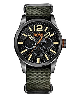 Boss Orange Gents Khaki Strap Watch