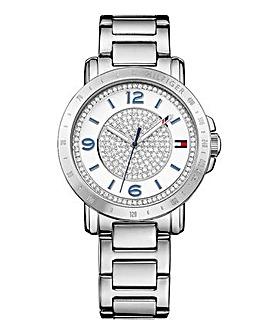 Tommy Hilfiger Ladies Silver Tone Watch