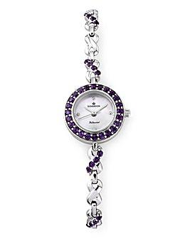 Personalised Ladies Silver Watch