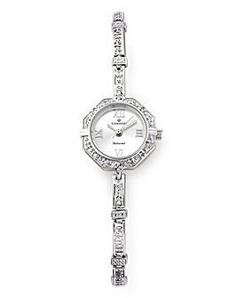Personalised Silver Ladies Watch