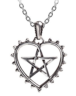 Alchemy Gothic Cunning Heart Pendant