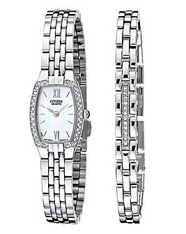Citizen Watch & Bracelet Set