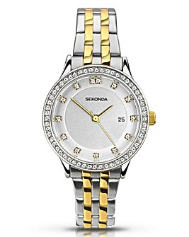 Sekonda Ladies Two Tone Watch