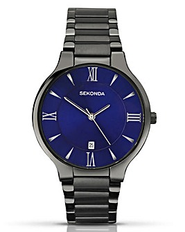 Sekonda Gents Gunmetal Watch