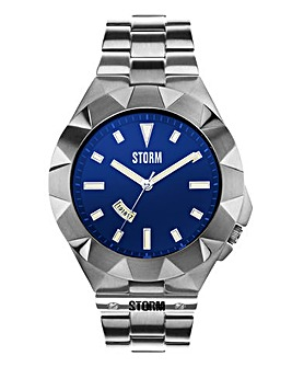 Storm Gents Blue Dial Bracelet Watch