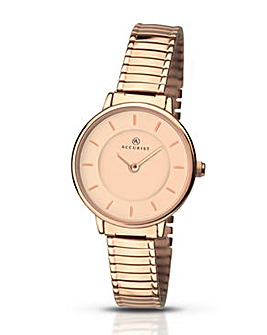 Accurist Ladies Rose Expander Watch