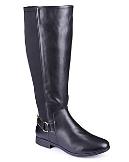 Sole Diva Stretch High Leg Boot E Fit