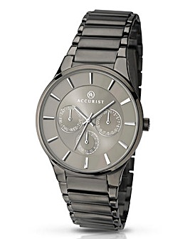 Accurist Gents Grey Chronograph Watch