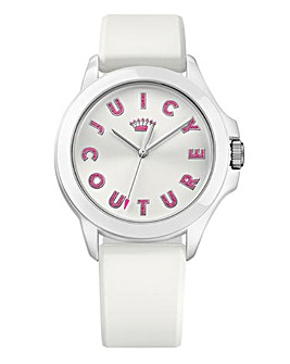Juicy Couture Silicon Watch - White