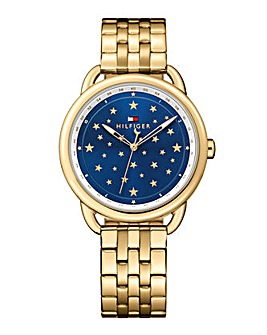 Tommy Hilfiger Ladies Gold Tone Watch