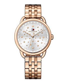 Tommy Hilfiger Ladies Rose Tone Watch
