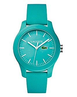 Lacoste Turquoise Silicon Strap Watch