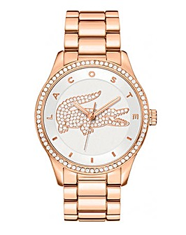 Lacoste Rose Gold-Tone Bracelet Watch