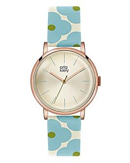 Orla Kiely Ladies Flower Strap Watch