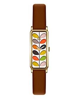 Orla Kiely Ladies Stem Print Watch