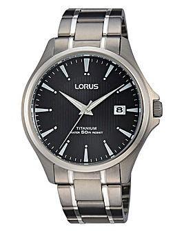 Lorus Gents Titanium Watch