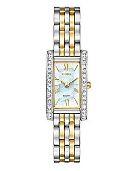 Citizen Ladies Two-Tone Bracelet Watch
