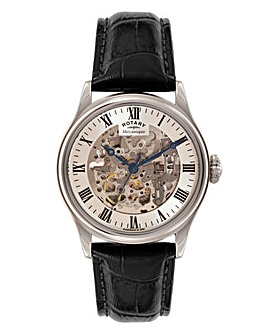 Rotary Gents Skeleton Watch