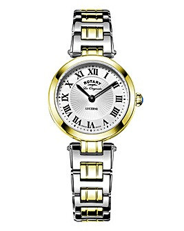 Rotary Ladies Two Tone Swiss Watch