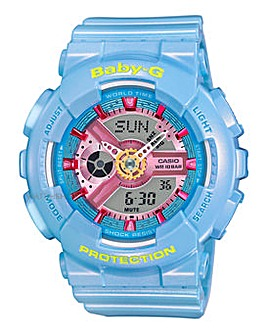 Baby-G Ladies Blue Sports Watch