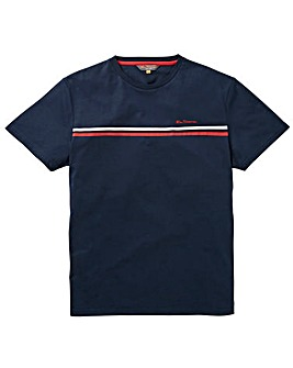 Ben Sherman Chest Stripe T-Shirt Long