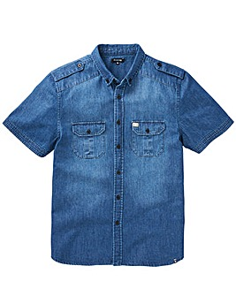 Firetrap Arizona Denim Shirt Reg