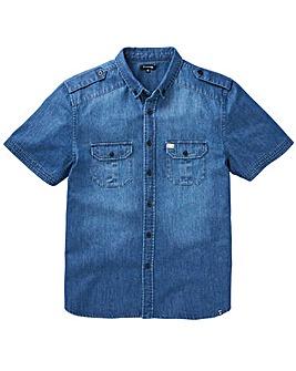 Firetrap Arizona Denim Shirt Long
