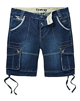 Firetrap Loui Denim Cargo Short