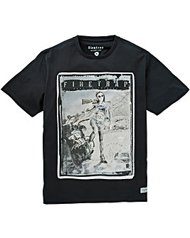 Firetrap Axel T-Shirt Long