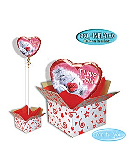 Me to You Valentine Balloon in A Box