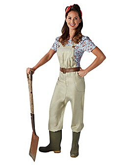 Adult Ladies Land Girl Costume